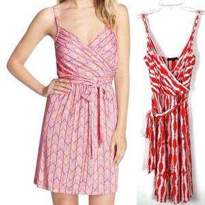 Tart | Orange Coral Print Mini Sun Dress Soft